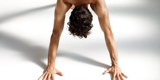 Wednesday morning yoga with Ruben De Monte X lululemon Canary Wharf