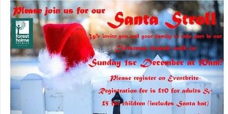 Santa Stroll tickets