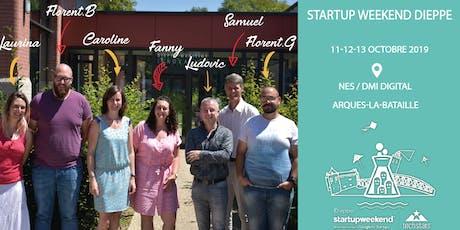 Techstars Startup Weekend DIEPPE / 11-12-13 octobre 2019 billets