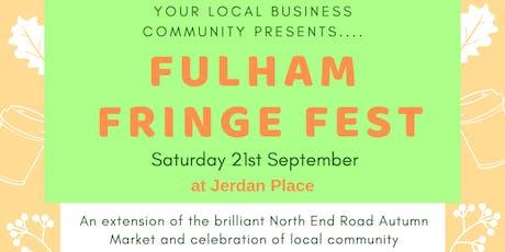 Fulham Fringe Festical tickets