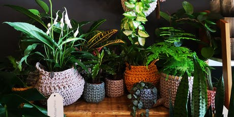 Crocheted Plant Basket Workshop tickets