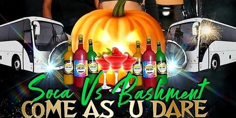 PUNCH BY SHAR - COME AS U DARE HALLOWEEN PARTY BUS FETE (SOCA vs BASHMENT) tickets