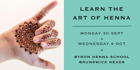 Learn the Art of Henna tickets