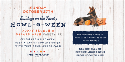 Howl-O-Ween: Puppy Brunch & Bazaar with Vanety PR