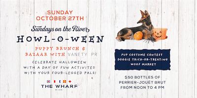 Howl-O-Ween: Puppy Brunch & Bazaar with Vanety PR