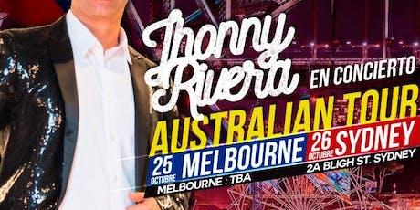 Jhonny Rivera Australian Tour SYDNEY tickets