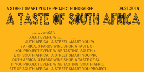 A Taste of South Africa: A Fundraiser for Street Smart Youth Project tickets