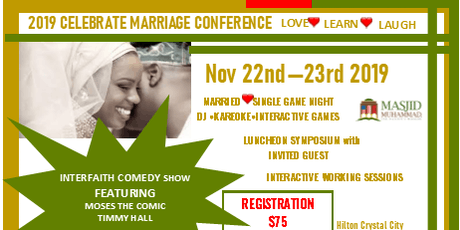 Celebrate Marriage 2019 tickets