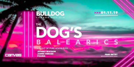 Bulldog Gin: The Dog's Balearics