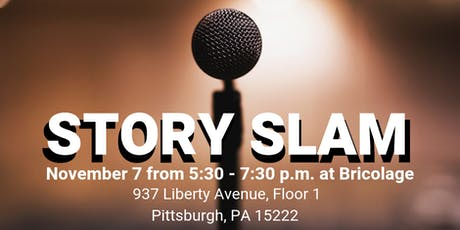 WordWrite Story Slam: The Best Story I've Ever Told tickets