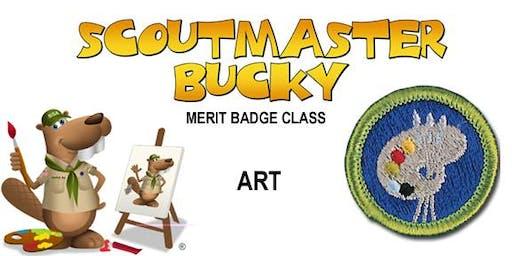 Art Merit Badge - 2020-04-25 - Saturday AM - Scouts BSA