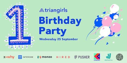Triangirls Birthday Party