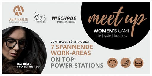 Women's Camp 2019 Life.Style.Business powered by Anja Häßler