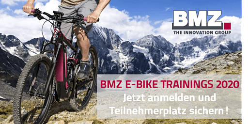 BMZ E-BIKE TRAININGS 2020