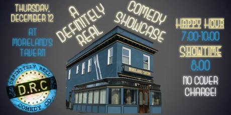 12/12 - A Definitely Real Comedy Showcase tickets