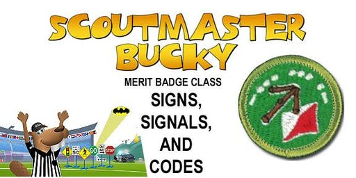 Signs, Signals, and Codes Merit Badge - 2020-04-25 - Saturday AM - Scouts BSA