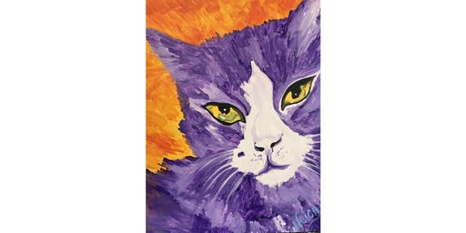 Paint your Pet | Abstract | Tuesday, October 29th, 7:00PM, $35