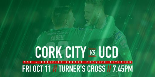 Cork City FC v UCD AFC