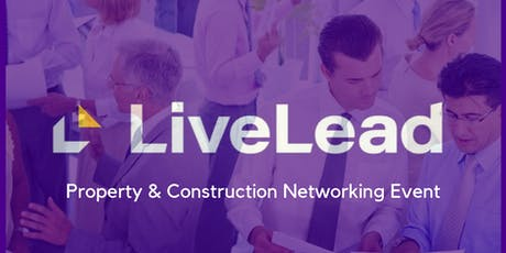 LiveLead Construction and Property Network Event tickets