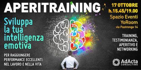 Aperitraining: Sviluppa la tua intelligenza emotiva biglietti