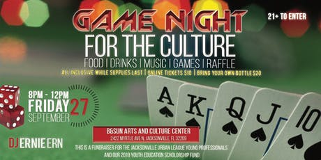 GAME NIGHT FOR THE CULTURE! tickets