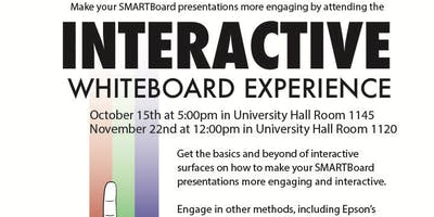 Interactive Whiteboard Experience 10/15/19