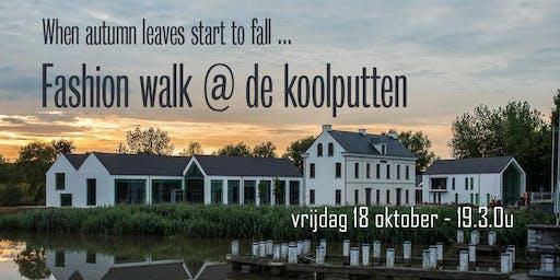 Fashion walk @ De Koolputten