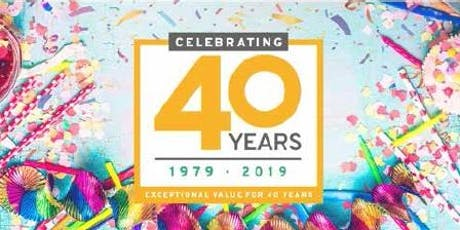 JTF Superstores 40th Birthday  Community Open Day - Sheffield tickets
