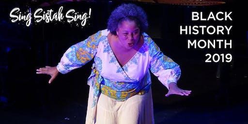 Sing Sistah Sing! Black History Month UK Tour