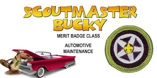 Automotive Maintenance Merit Badge - 2020-04-25 - Saturday PM - Scouts BSA