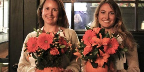 Pumpkins, Flowers and Bubbly Oh My! with Alice's Table tickets