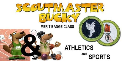 Athletics AND Sports Merit Badges - 2020-04-25 - Saturday PM - Scouts BSA