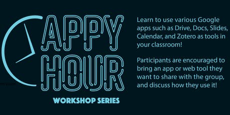 Appy Hour Workshop Series 11/7/19: Google Jamboard tickets