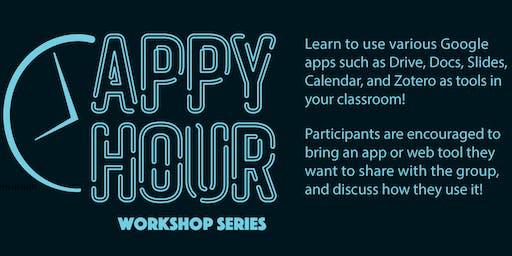 Appy Hour Workshop Series 11/7/19: Google Jamboard