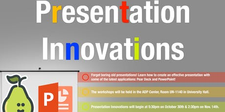 Presentation Innovations: PowerPoint tickets
