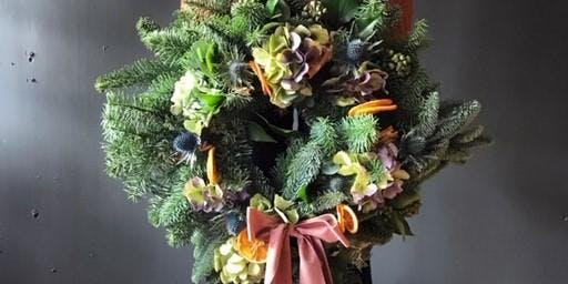 Make a special Christmas Wreath at The Hall