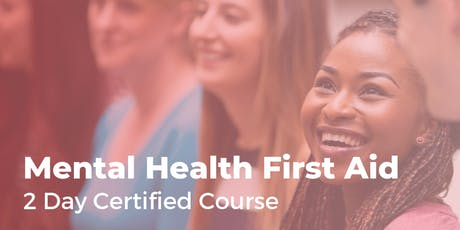Mental Health First Aid  - 2 day workshop tickets