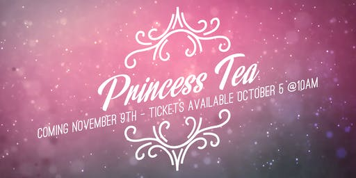 Glad Tidings Princess Tea 2019