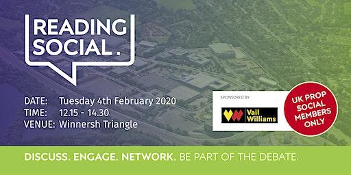 Reading Social - 4 February 2020
