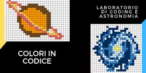 Notte dei Ricercatori 2019 - Colori in codice - Laboratorio per bambini
