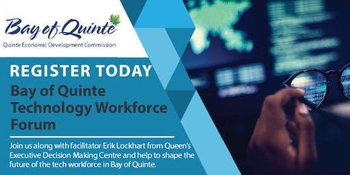 Bay of Quinte Technology Workforce Forum