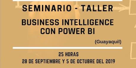 CURSO –TALLER INTELIGENCIA DE NEGOCIOS EN POWER BI tickets