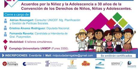 Mar del Plata, ¿Ciudad Amigable con la Niñez y Adolescencia? entradas