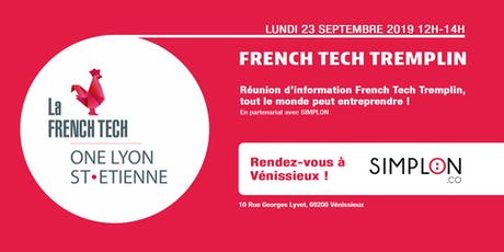 Réunion d'information French Tech Tremplin billets