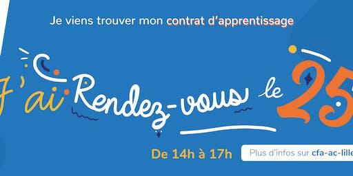#RDVle25 et décroche ton contrat d'apprentissage [Lille]
