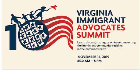 10th Virginia Immigrant Advocates Summit  tickets