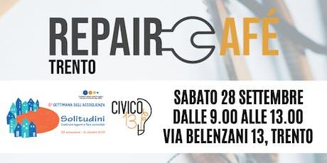 Repair Cafè Trento: riparare oggetti, costruire comunità biglietti