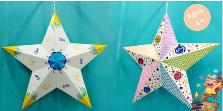 Arts and Crafts: 3D Paper Star with Creators of Love To Share Arts tickets