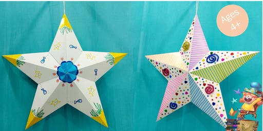 Arts and Crafts: 3D Paper Star with Creators of Love To Share Arts