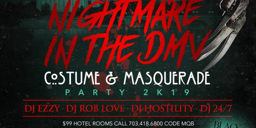 NIGHTMARE IN THE DMV COSTUME & MASQUERADE PARTY HILTON CRYSTAL CITY